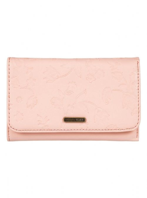 ROXY WOMENS PURSE.NEW JUNO FAUX LEATHER PEACH CREDIT CARD COIN WALLET 8S 90 MDRO